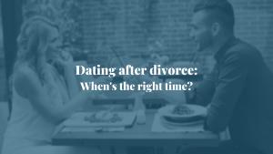 dating after a divorce heskin martinez