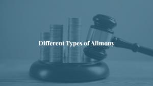 Different types of alimony